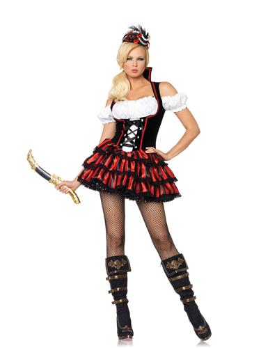 Sexy Shipwreck Pirate Costume