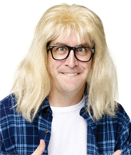 SNL Garth Algar Wig and Glasses