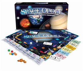 Spaceopoly Board Game