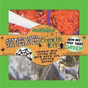 Spiderweb Cookie Kit