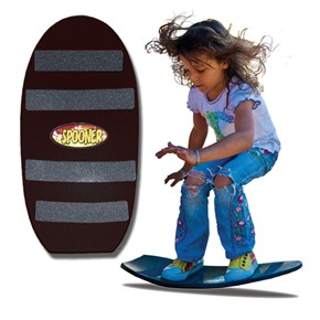 Spooners Board - Freestyle Black