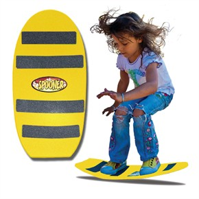 Spooners Board - Freestyle Yellow