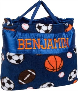 Sports Nap Bag with Personalized Option