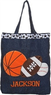 Sports Preschool Bag with Personalized Option