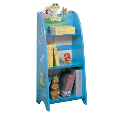 Teamson Child Book Case - Frog