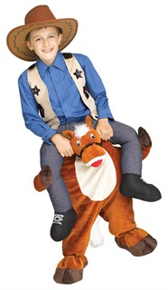 Toddler Carry Me Horsey Costume - 3T-4T