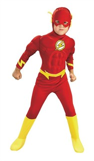 Toddler Deluxe Muscle Chest The Flash Costume, Toddler ...