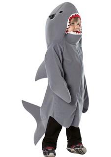 Toddler Shark Costume - Size 18 - 24 months