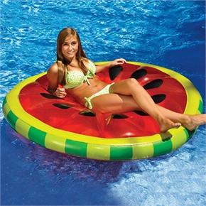 Watermelon Slice Island Pool Float