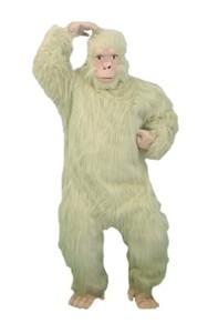 Adult Beige Gorilla Costume