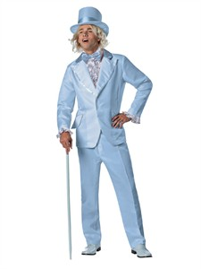 Adult Blue Tuxedo Goofball Costume