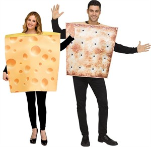 Adult Cheese & Cracker Costume