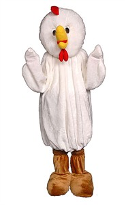 Adult Chicken Mascot