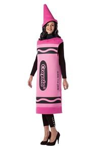 Adult Crayola Costume - Pink