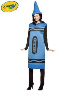 Adult Crayola Crayon Costume - Blue