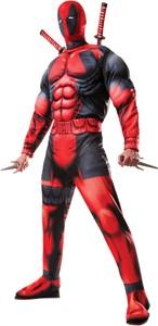 Adult Deluxe Deadpool Costume