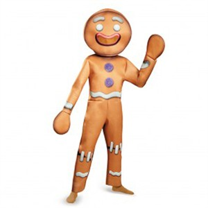 Adult Deluxe Gingerbread Man Costume