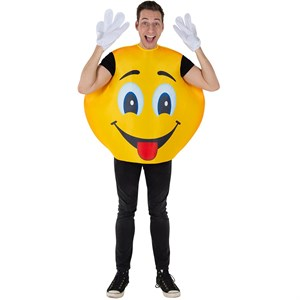 Adult Emoji Smiley Costume