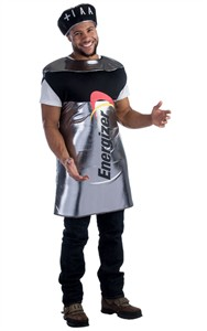 Adult Energizer Battery Costume