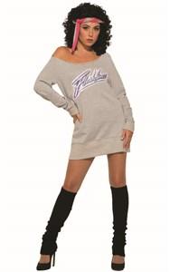 Adult Flashdance Costume