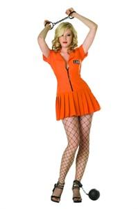 Adult Flirty Felon Costume