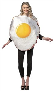 Adult Fried Egg Costume