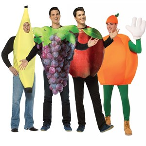 Adult Fruit Group Costume Set