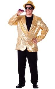 Adult Gold Blazer Costume