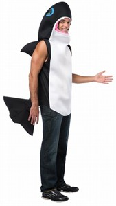 Adult Killer Whale Costume - Lightweight