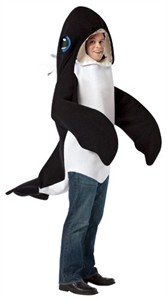 Adult Killer Whale Costume