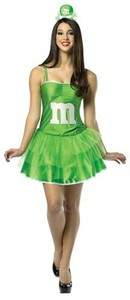 Adult M & M Dress - Green