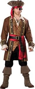 Adult Pirate Costume - Captain Skullduggery