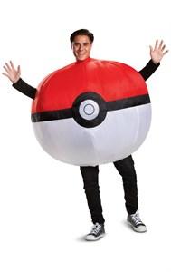 Adult Pokeball Inflatable Costume