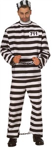 Adult Prisoner Man Costume
