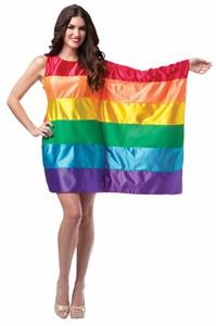 Adult Rainbow Flag Dress