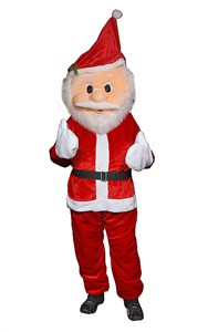 Adult Santa Claus Mascot
