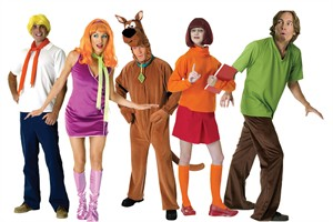 Adult Scooby Doo Group Costume
