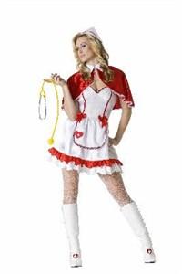 Adult Sexy Caped Nurse Costume