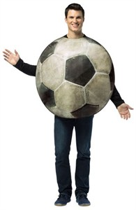 Adult Soccer Ball Costume