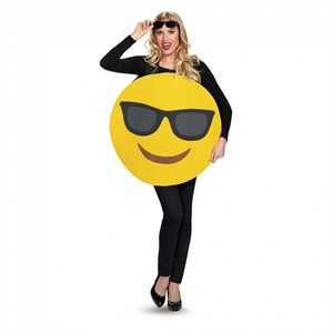 Adult Sunglasses Emoji Costume