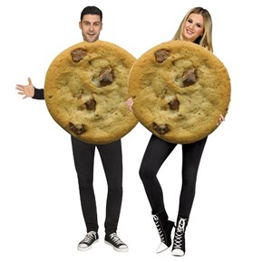 Adult Two Cookies Costume Set