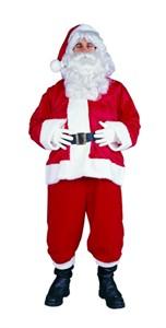 Adult Velboa Santa Suit