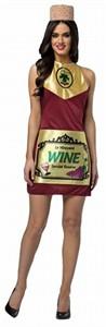 Adult Wine Bottle Dress