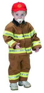 Toddler Jr. Fire Fighter Suit (Tan)