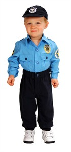 Toddler Police Officer Costume