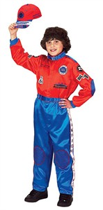 Jr. Champion Racing Suit (Red & Blue)
