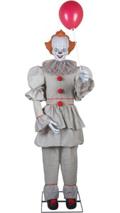 Animated Life Size Pennywise Prop