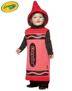 Baby Crayola Crayon Costume - Red  sc 1 st  Find Costume & Red Baby Crayola Crayon Costume Crayola Crayon Costumes