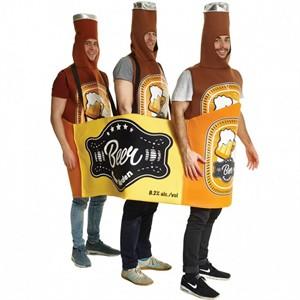 Beer Bottle Case Costume