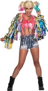 Birds of Prey Adult Harley Quinn Costume
